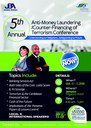 JIFS/JBA 5th Annual AML/CFT Conference Flyer
