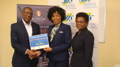 50% SCHOLARSHIP awarded to pursue the Chartered Banker MBA Programme