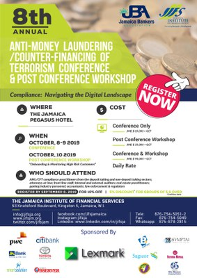 8th Annual Anti-Money Laundering Conference - Navigating the Digital Landscape