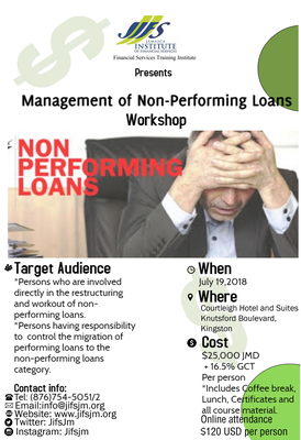 Mgmt of Nonperforming Loans short course
